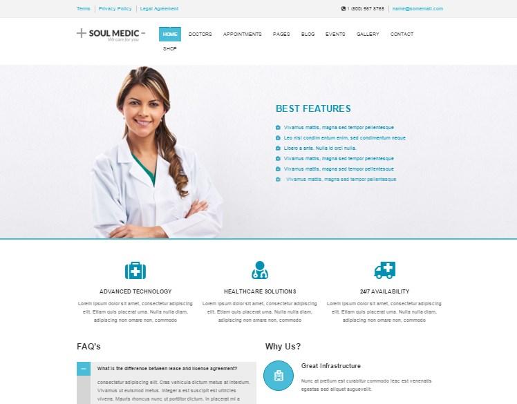 Responsive Medical & DentalTheme