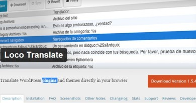 Loco Translate: easy translate your  plugins and themes
